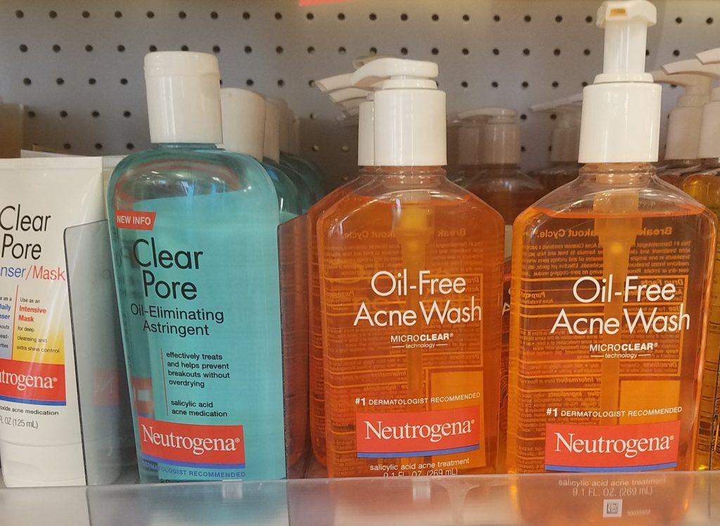 Neutrogena Acne Face Wash just $2 77