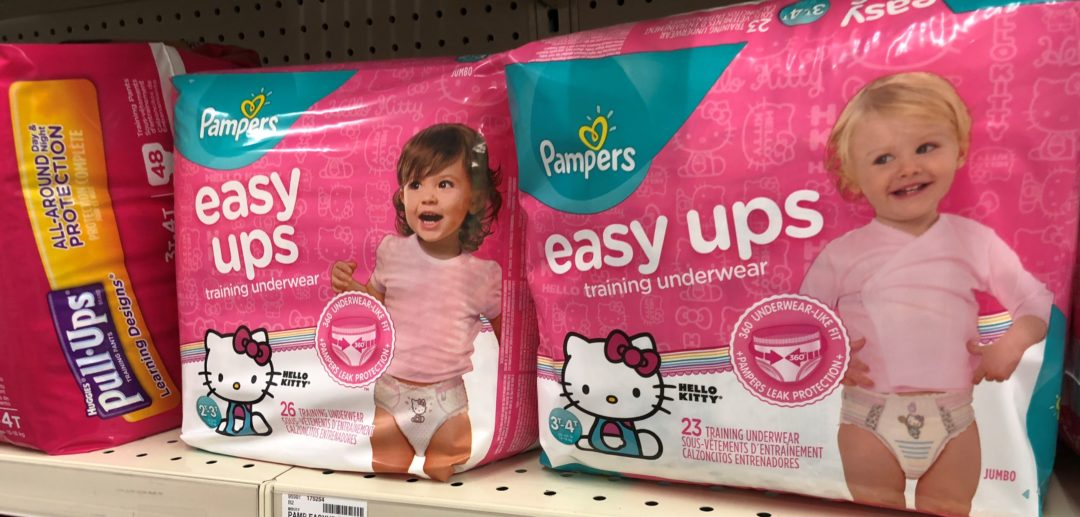 Pampers Easy-Ups only 5.50 each at Walgreens!
