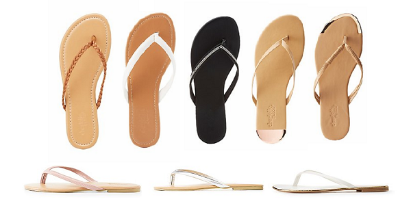 23148b98904b Hurry over to Charlotte Russe right now to grab these Flip Flops and Thong  Sandals for ONLY  5 with FREE Shipping! This deal is only valid for today  (5 15) ...
