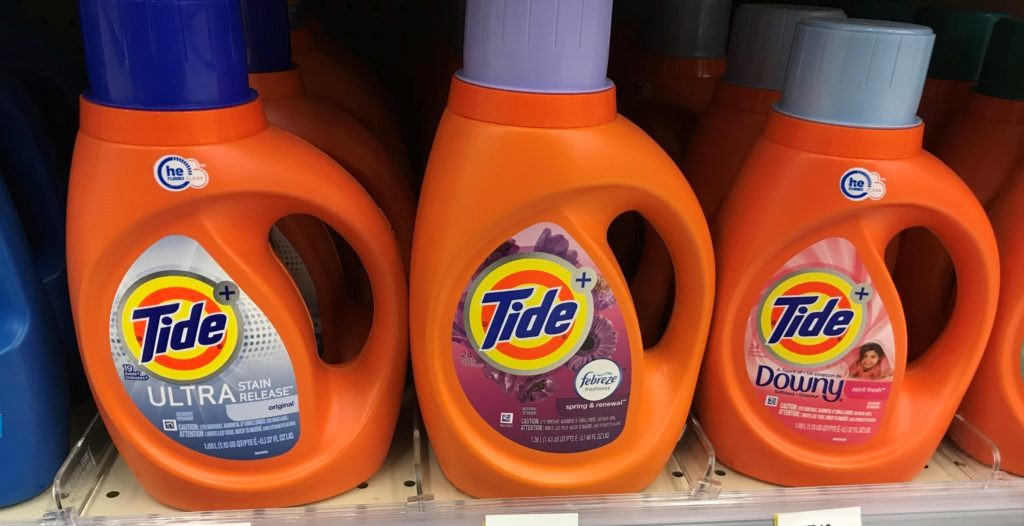 Tide, Gain & Downy only 1.27 each at CVS!