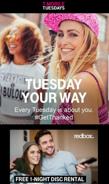 It's T-Mobile Tuesday! FREE Redbox Rentals, FREE FIFA World Cup