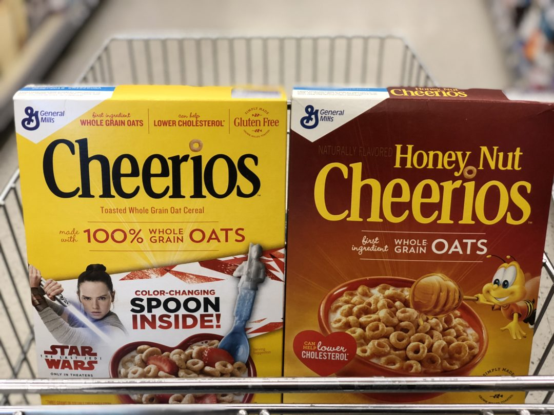 General Mills Cereals only 1.38 at Walgreens!