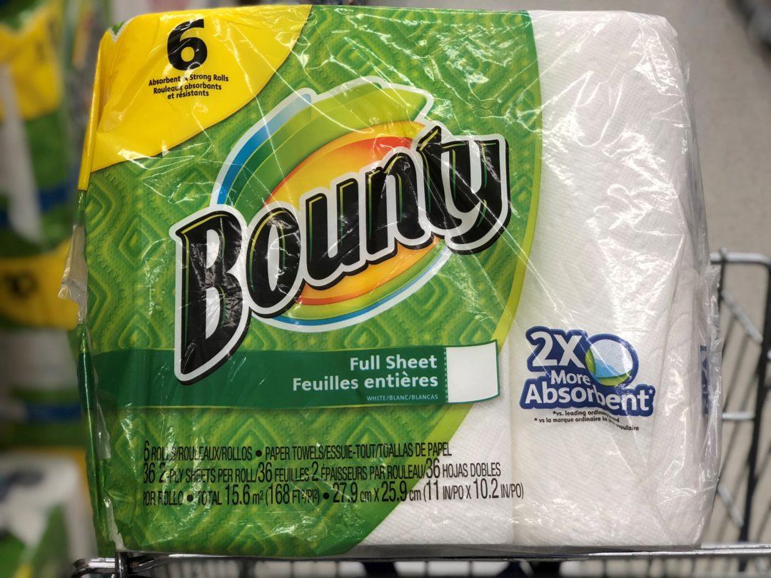 Bounty/Charmin Deal at CVS