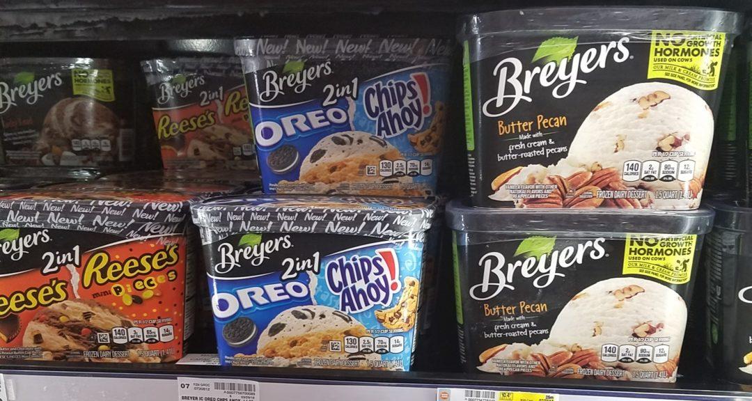 Breyers Ice Cream just 1.49 at Kroger