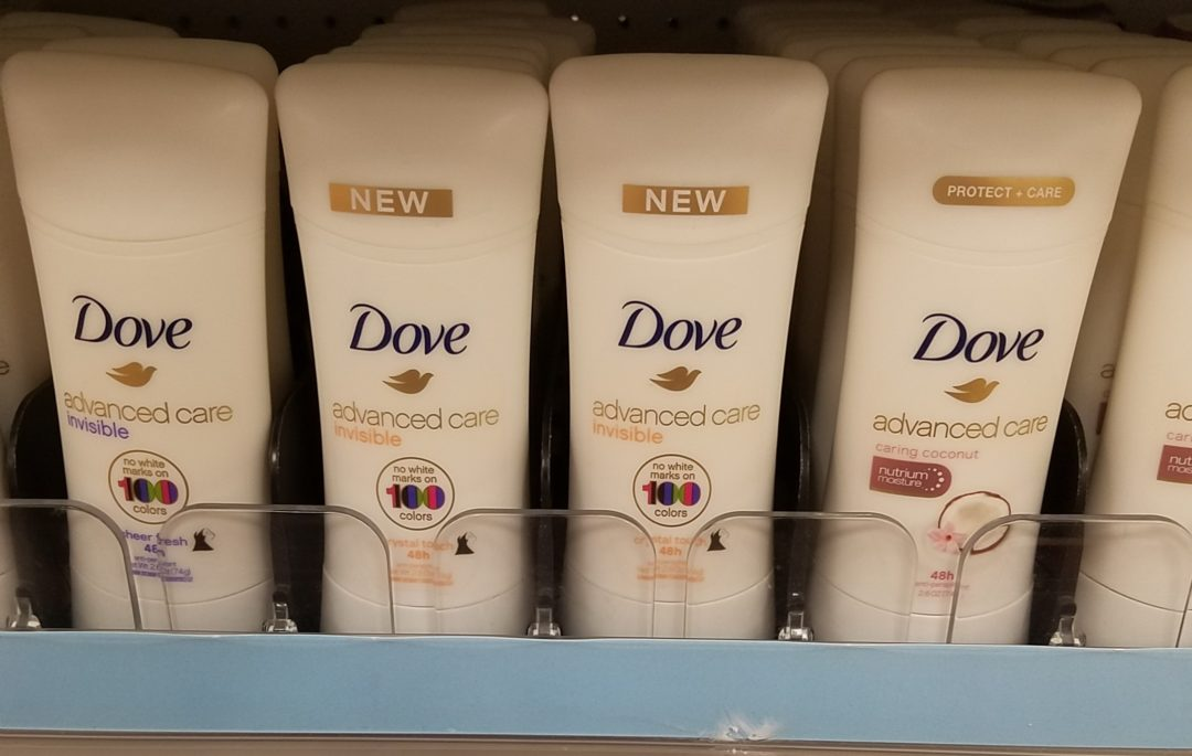 Dove or Degree Deodorant only 0.99 at Walgreens!