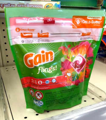 Gain Flings only 0.94 at Walmart