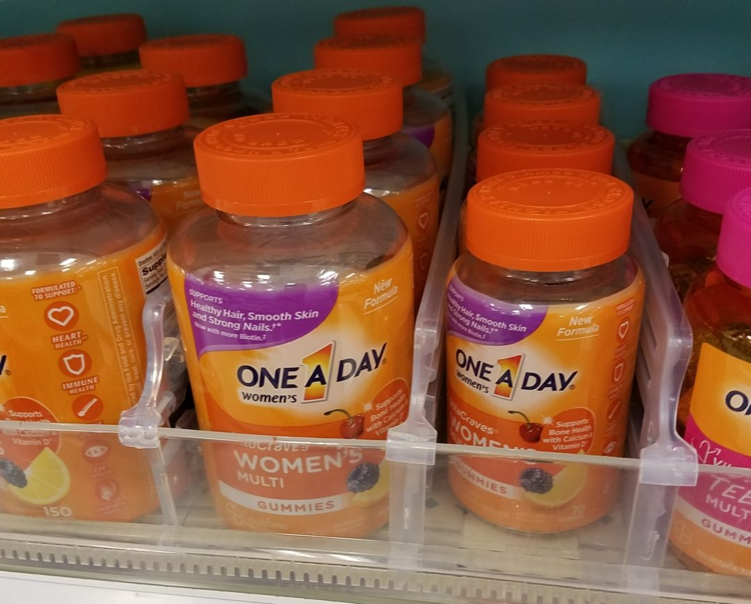 One A Day Multivitamins only 2.99 at Kroger!