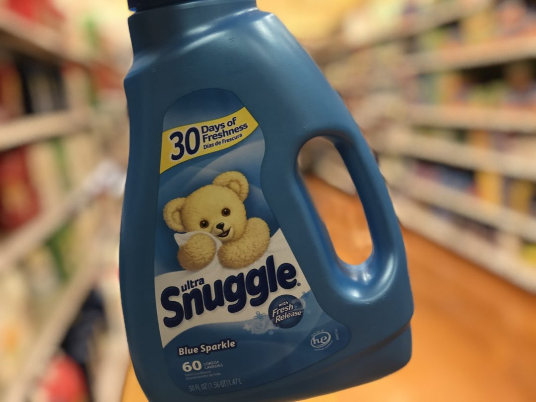 Snuggle Liquid Fabric Softener or Dryer Sheets only 1.88 at Walgreens!