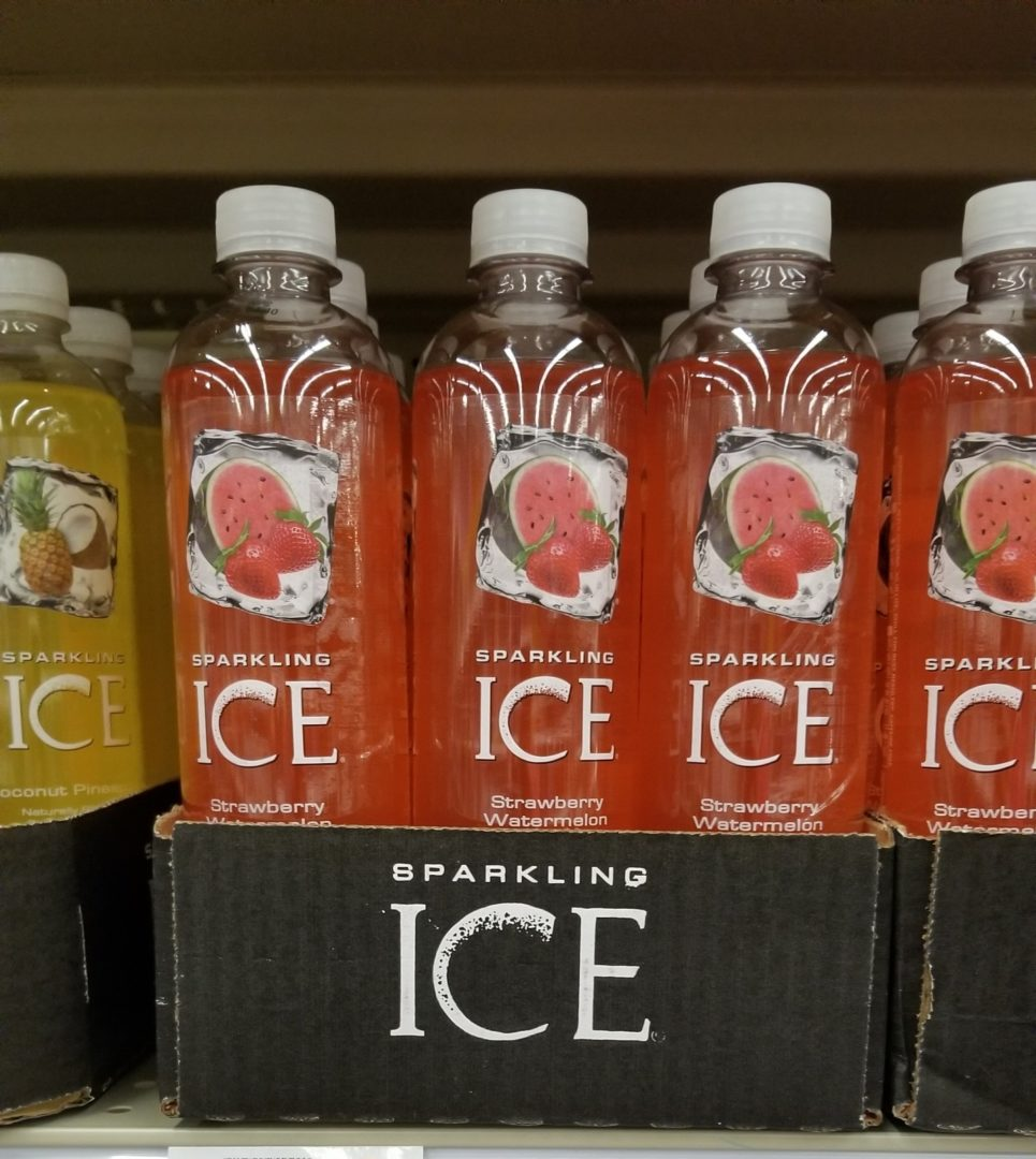 Sparkling Ice Water only 0.63 each at Target