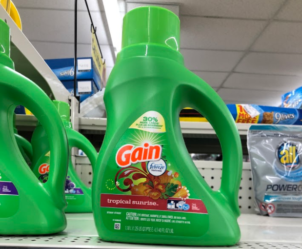 Gain Liquid Laundry Detergent only 1.95 at Dollar General!