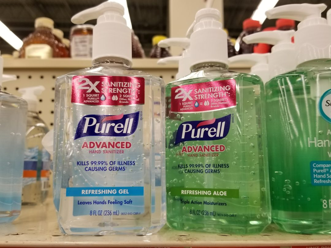 Purell Hand Sanitizer only 1.99 at Walgreens