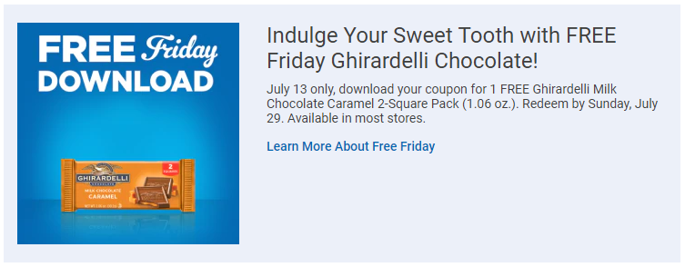 photo about Ghirardelli Printable Coupon named Kroger Affiliate marketers: Totally free Ghirardelli Chocolate! - Package deal MAMA