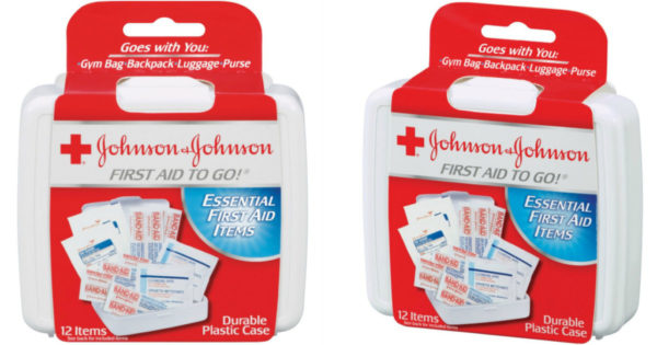Johnson & Johnson First Aid to Go! Only 0 32 at CVS - DEAL MAMA