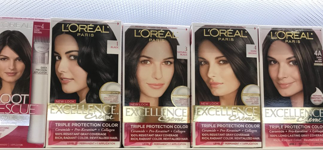 L'Oreal Paris Excellence Hair Color only 2.49 at Kroger!
