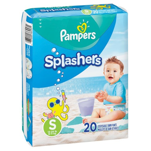 Pampers Splashers Swim Diapers only 4.97 at Walmart