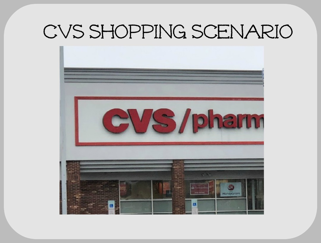 CVS Shopping Scenario – Week of 1/19 – 0.84 per item for 34.06 worth of Products