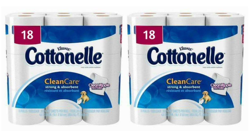 Cottonelle Bath Tissue 18 Pk Only 5 19
