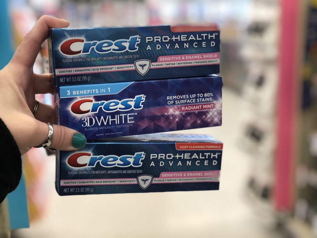 FREE Crest or Oral-B Dental Care at Walgreens!