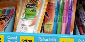 Bic Pens and Pencils only $0.25!
