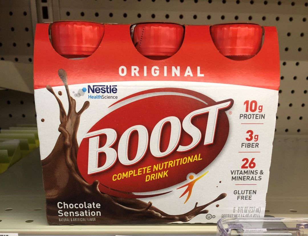 Boost Balanced Nutritional Drinks only 3.12 each at CVS!