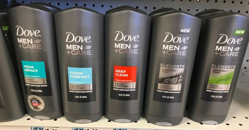 Dove Foaming Hand Wash Only 1 19 At Target: Dove Men+Care Foaming Body Wash Only $0.73