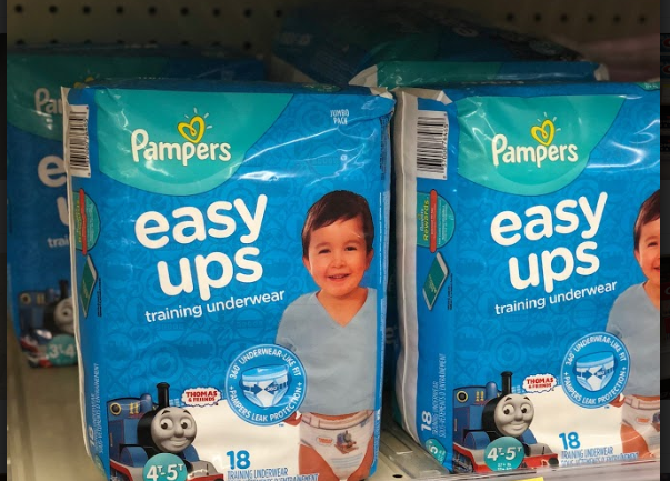 Pampers Easy Ups just 3.50 at Walgreens