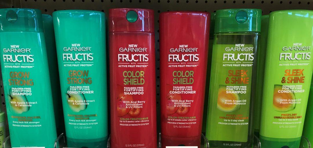 Garnier Fructis Shampoo & Conditioner only 1.00 at Kroger
