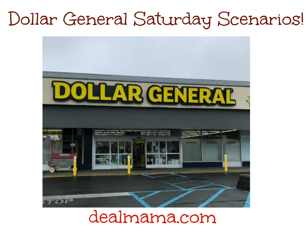 Dollar General Saturday Scenario 9/26 ONLY – As low as $0.21 per item!