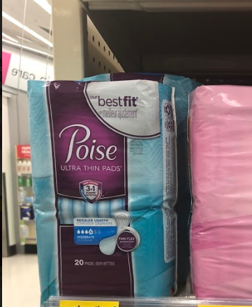 Free Poise Pads at Walmart