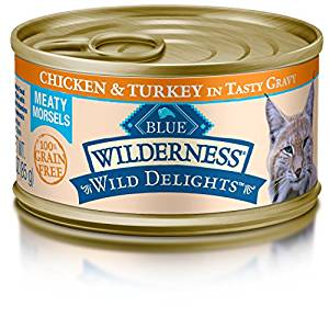 MONEYMAKER on Blue Buffalo Wilderness Canned Cat Food at Walmart!