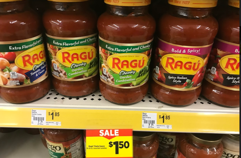 photo relating to Ragu Printable Coupons called Ragu Pasta Sauce Simply $1! PRINTABLE COUPON