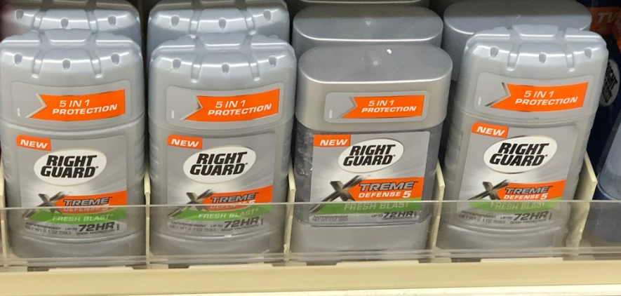 Right Guard Xtreme just 1.87 at Walmart