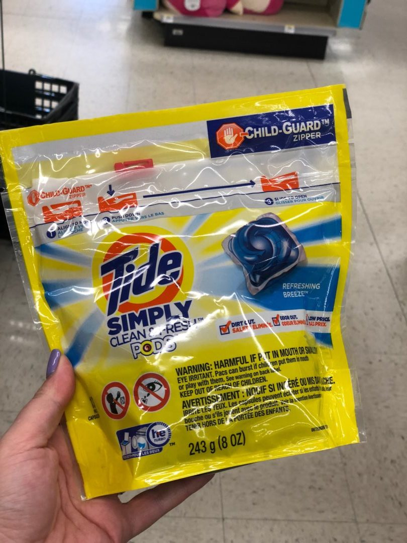 MONEYMAKER on Tide Simply Pods Laundry Detergent Pacs at Walmart!