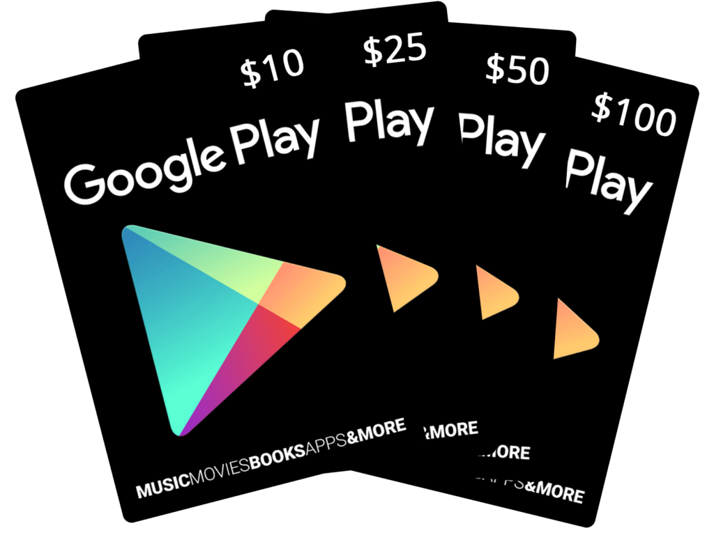 hot deal on google play gift cards