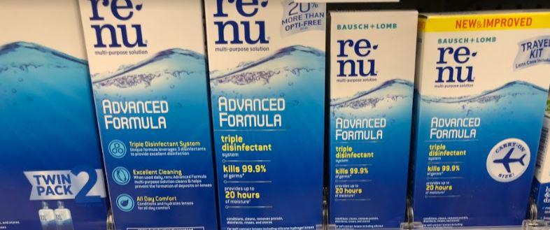 Renu Only 0.99 at CVS