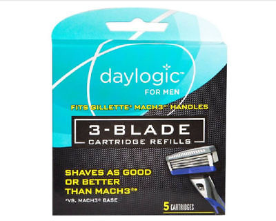 Daylogic Men's 3 Blade Refill, 4ct Only 2.99 at Rite Aid!