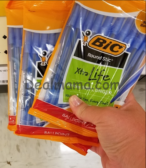 FREE Bic Pens & Pencils at Dollar General!