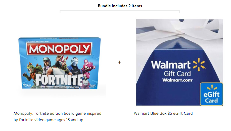 Monopoly Fortnite Edition Only 10 After Free Walmart Gift Card