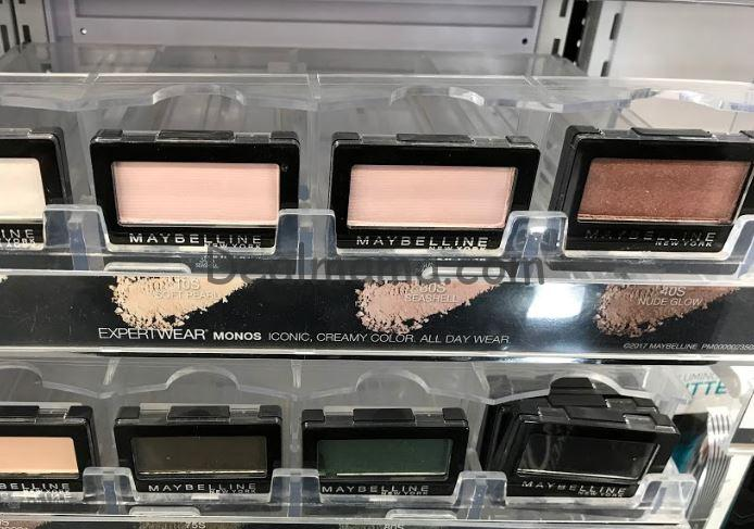 Maybelline as low as 1.49 at CVS!