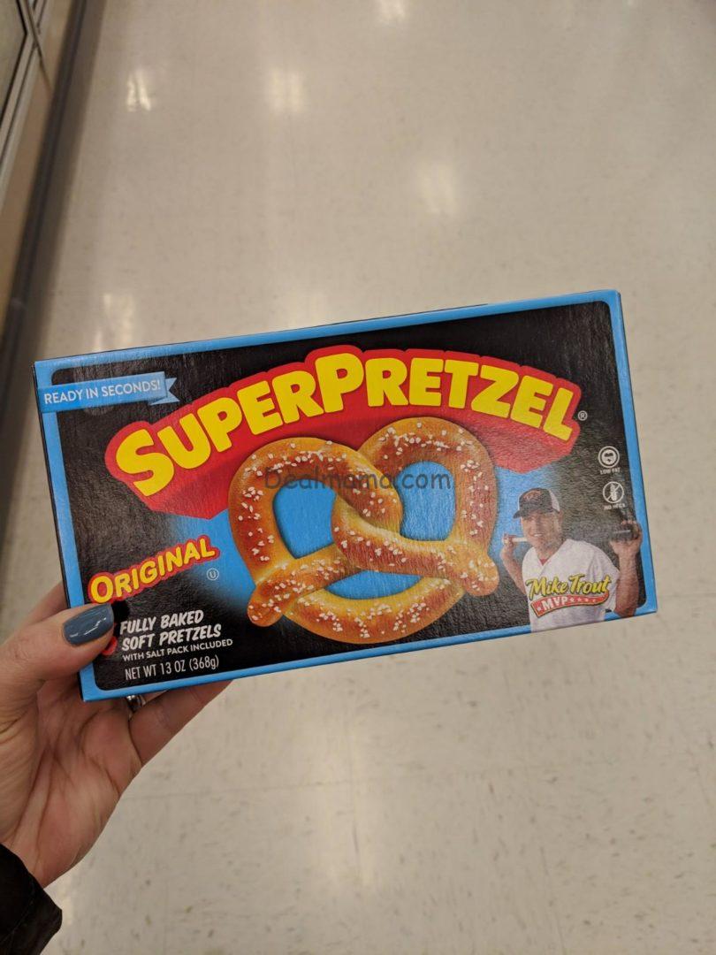 SuperPretzel Soft Pretzels only 0.57 at Walmart!