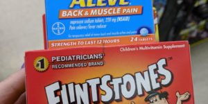 FREE Aleve and Flintstones Vitamins!!