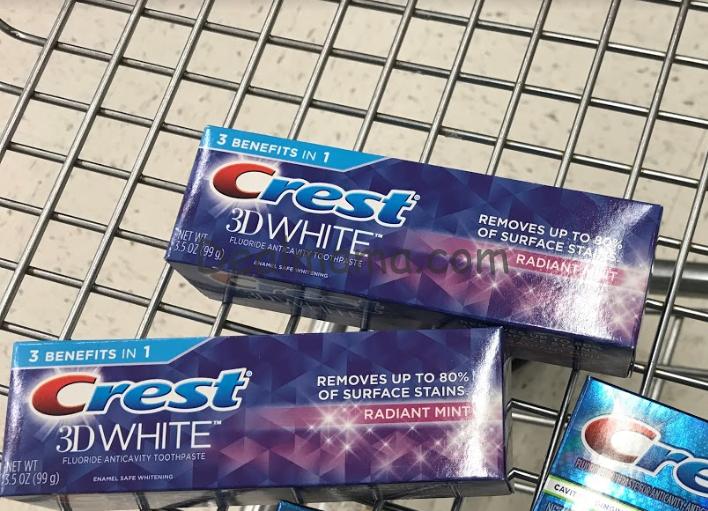 MONEYMAKER on Crest Toothpaste at CVS