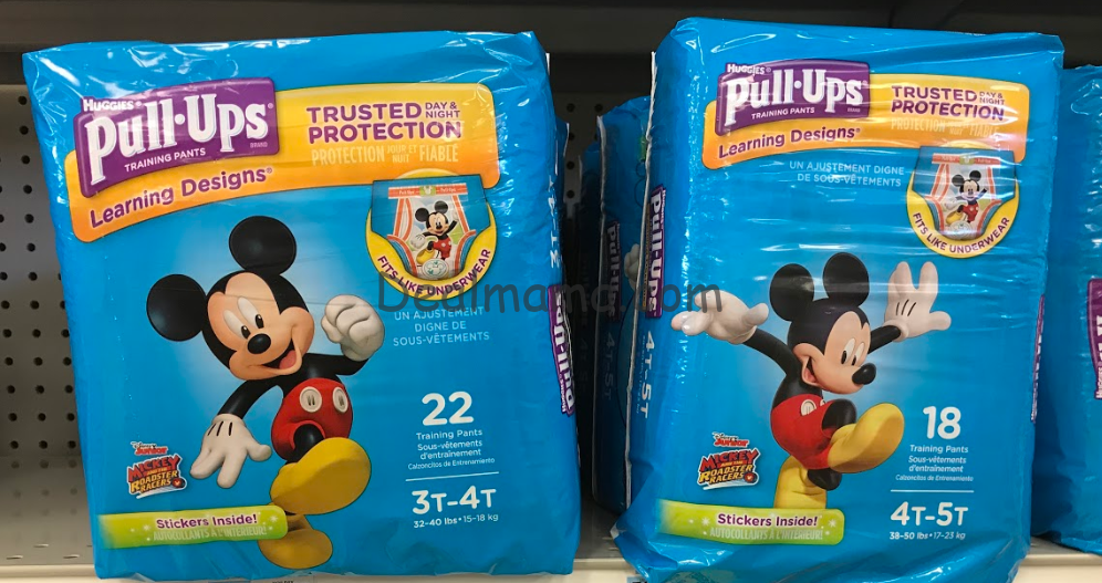 Huggies Pull-Ups Training Pants only 4.49 at Rite Aid!