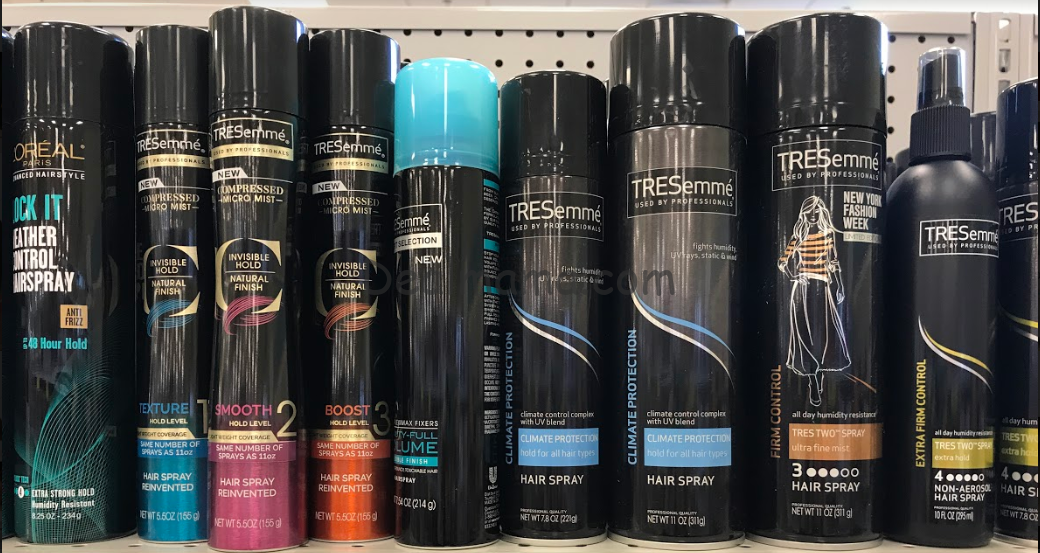 Tresemme Hairspray only 1.45 at Dollar General!