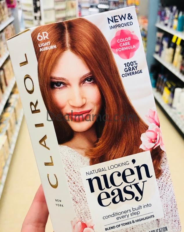 Clairol Hair Color only 3.18 at Walgreens!
