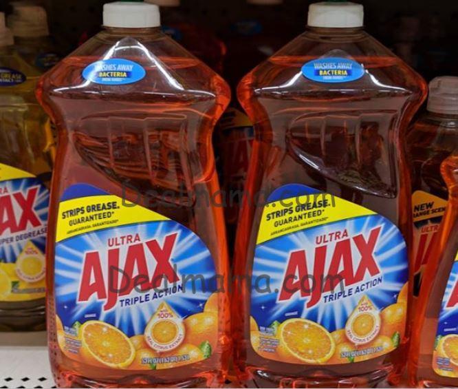 Ajax or Palmolive Large Bottles only 1.50 at Dollar General!