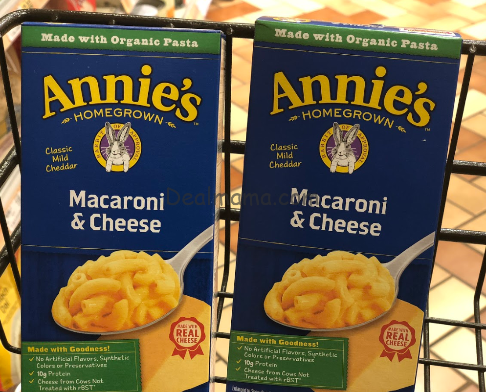 Annie's Mac & Cheese only 0.54 at Target!