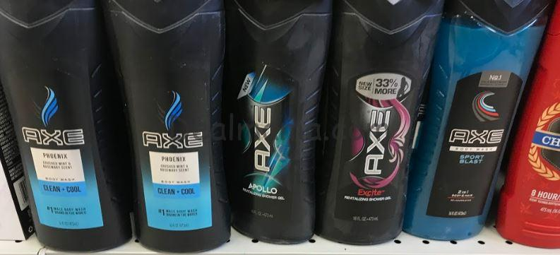 AXE Body Wash only 1.04 each at Target