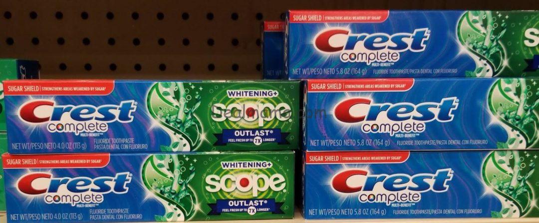 FREE Crest Premium Toothpaste at Kroger!