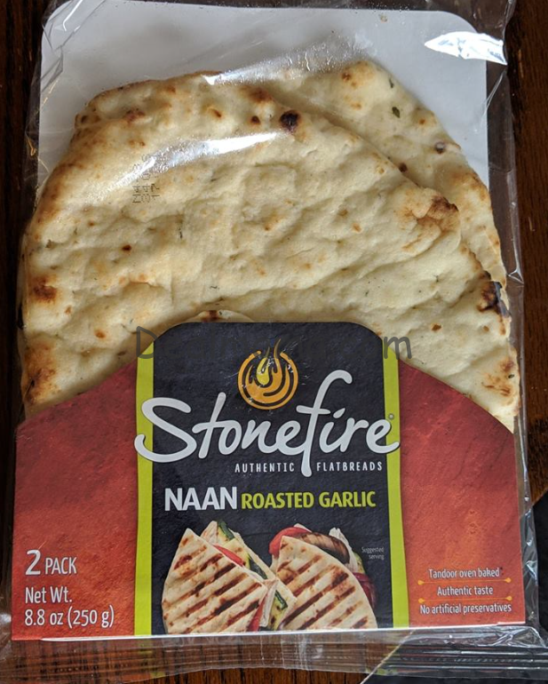 Stonefire Naan only 0.99 at Kroger!